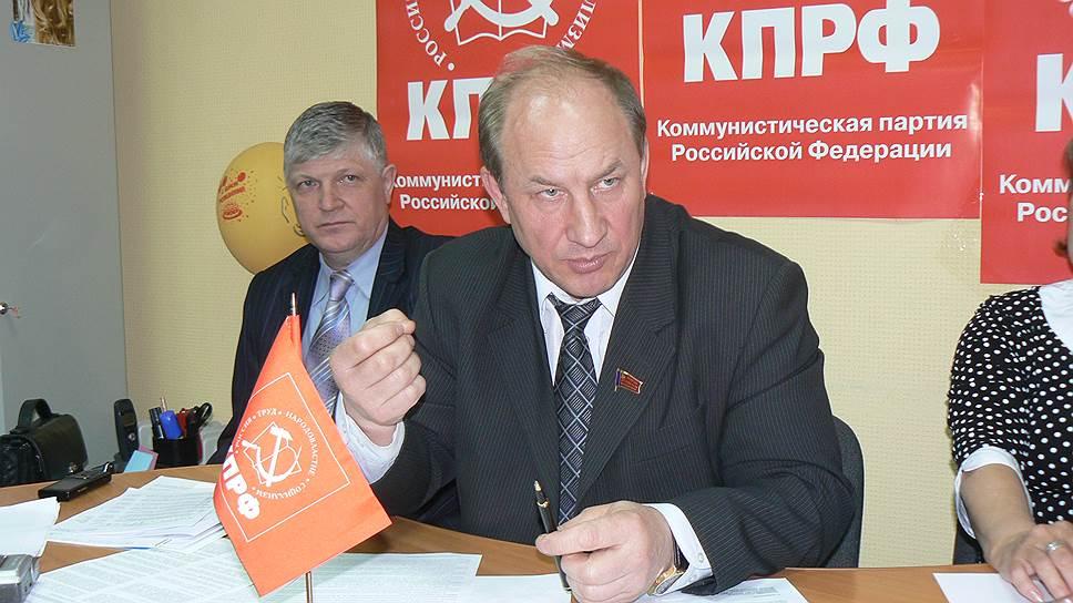 Первый заместитель председателя комитета Государственной думы России по делам национальностей Валерий Рашкин