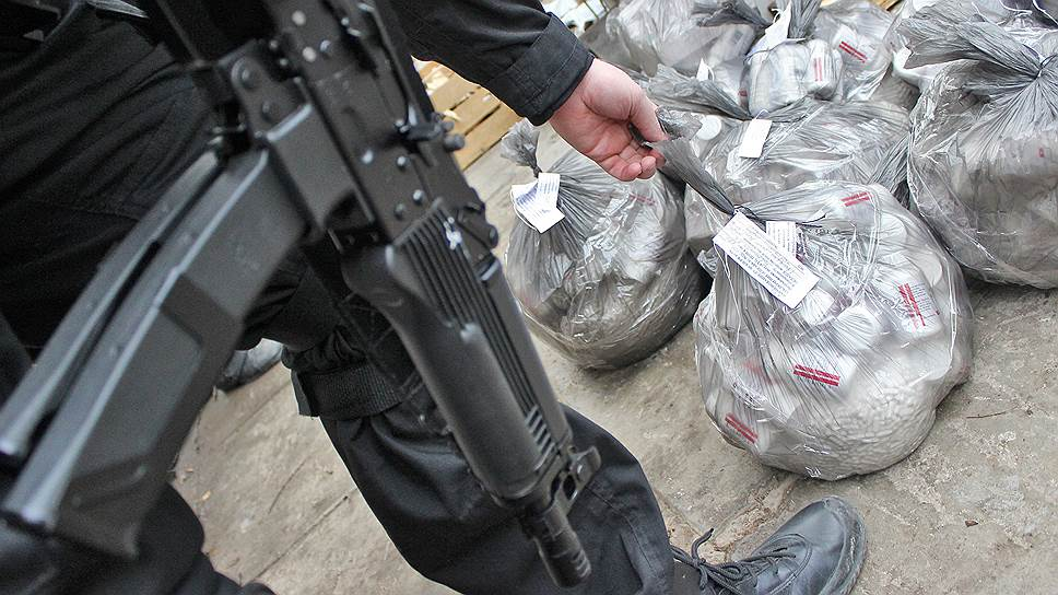 В России за пять лет изъяли 200 тонн наркотиков