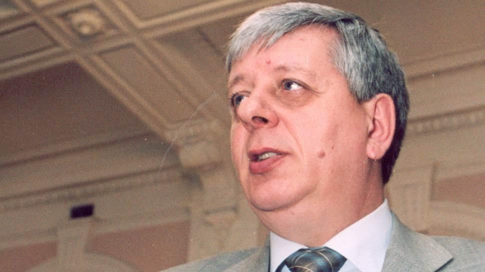 Экс-министр имущественных отношений Омской области Александр Стерлягов