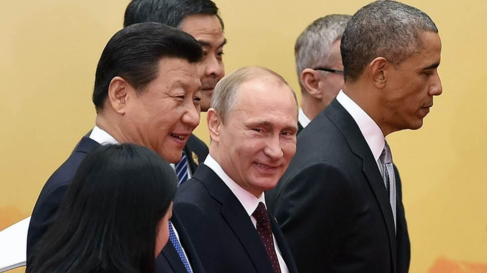 Obama и Putin запрещены в Китае