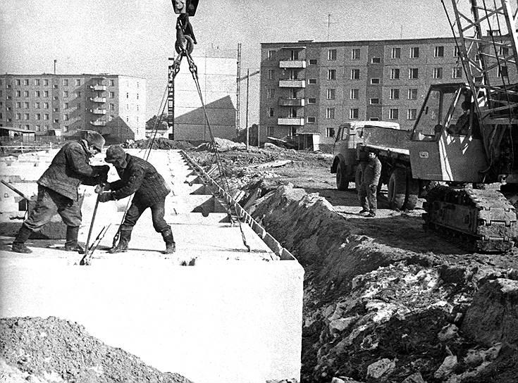 Город был основан как место жительства для работников строящейся в трех километрах от него АЭС