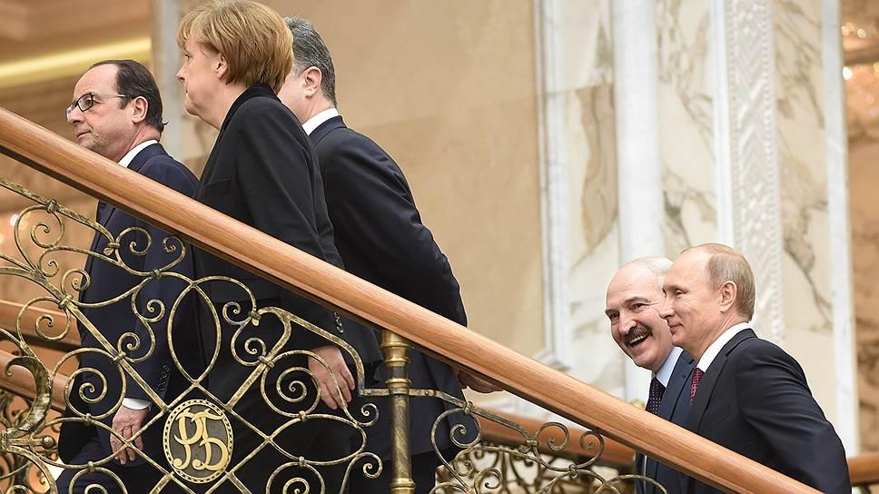 На саммите в Минске идут переговоры об урегулировании ситуации на Украине