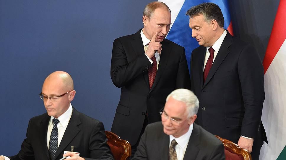 Зачем Владимир Путин встречался с Виктором Орбаном