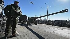 Ополчение ДНР и ЛНР отводит тяжелые вооружения от Дебальцево