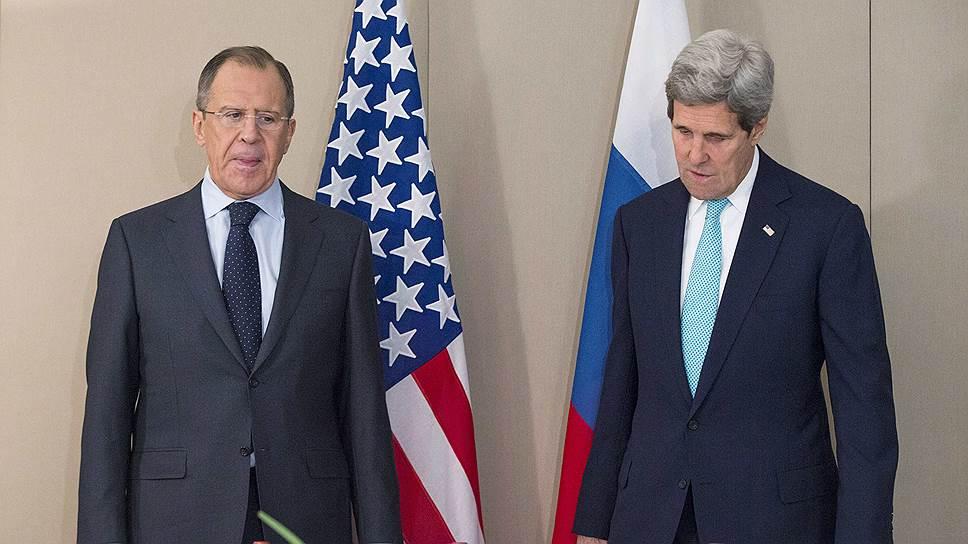 Как Сергей Лавров и Джон Керри провели переговоры в Женеве