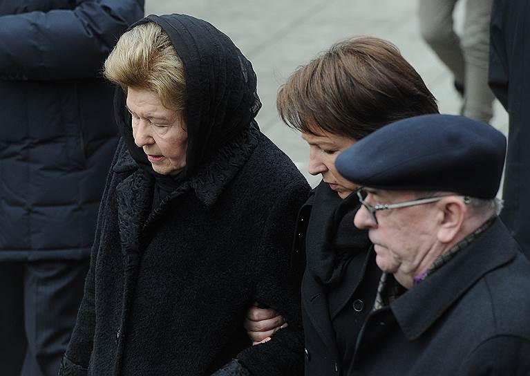 Вдова первого президента России Бориса Ельцина Наина (слева) с дочерью Татьяной