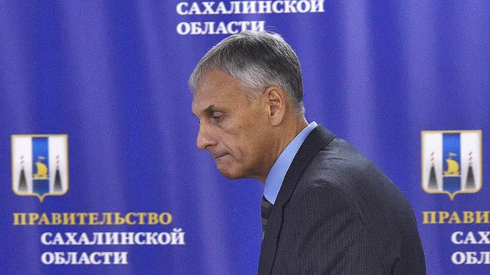 Как задержали Александра Хорошавина
