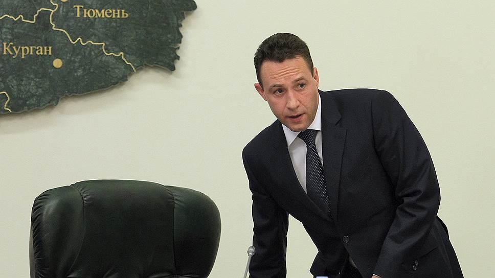 Полномочный представитель президента России в Уральском федеральном округе Игорь Холманских