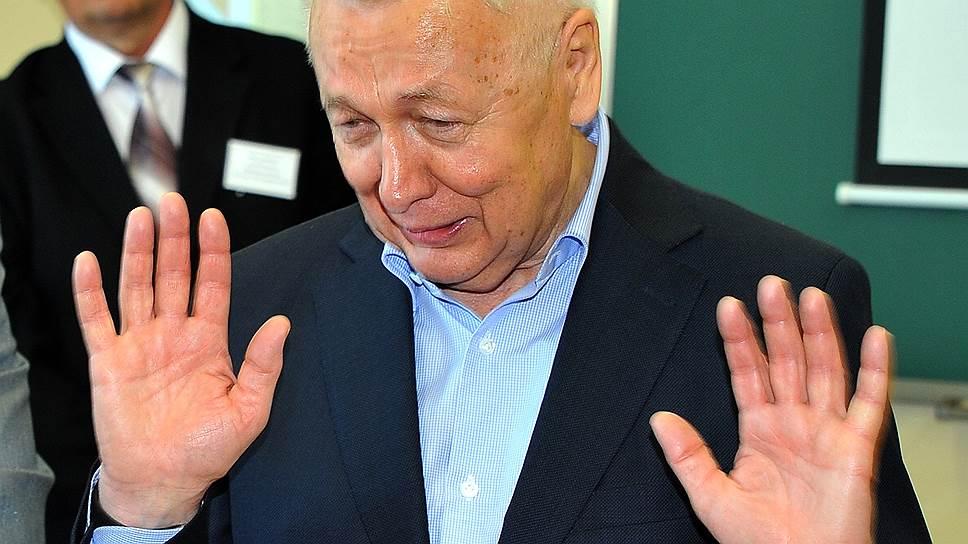 Бывший ректор УГНТУ Айрат Шаммазов