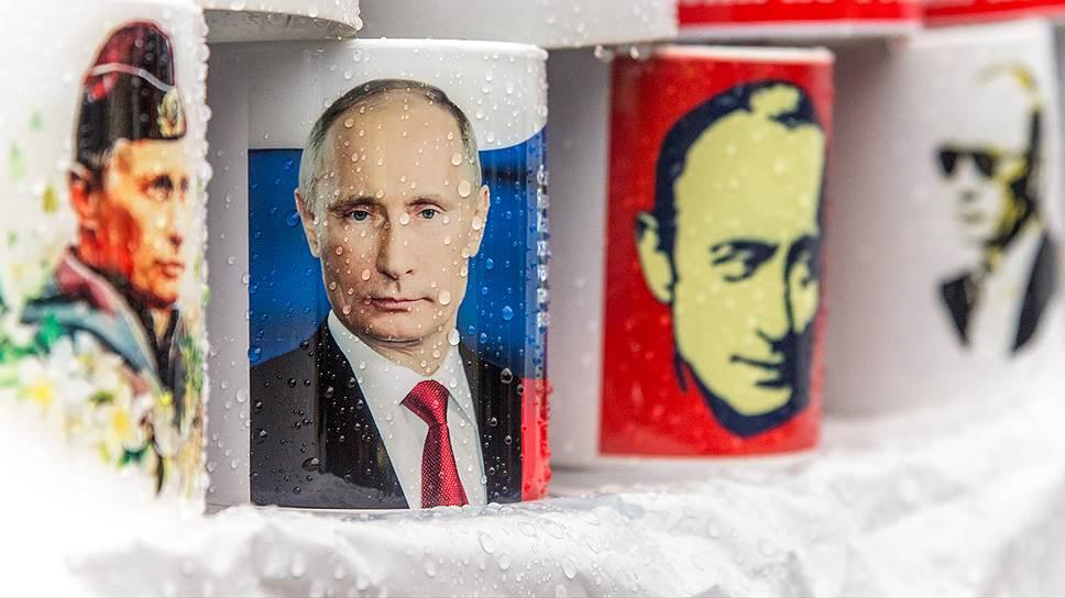 Как растет спрос на товары с изображением Владимира Путина