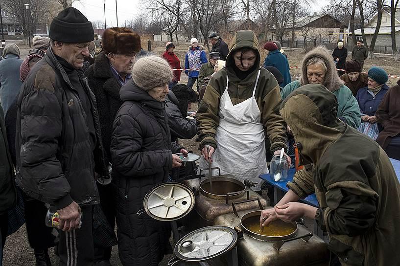 12 марта. Село Чернухино Луганской области