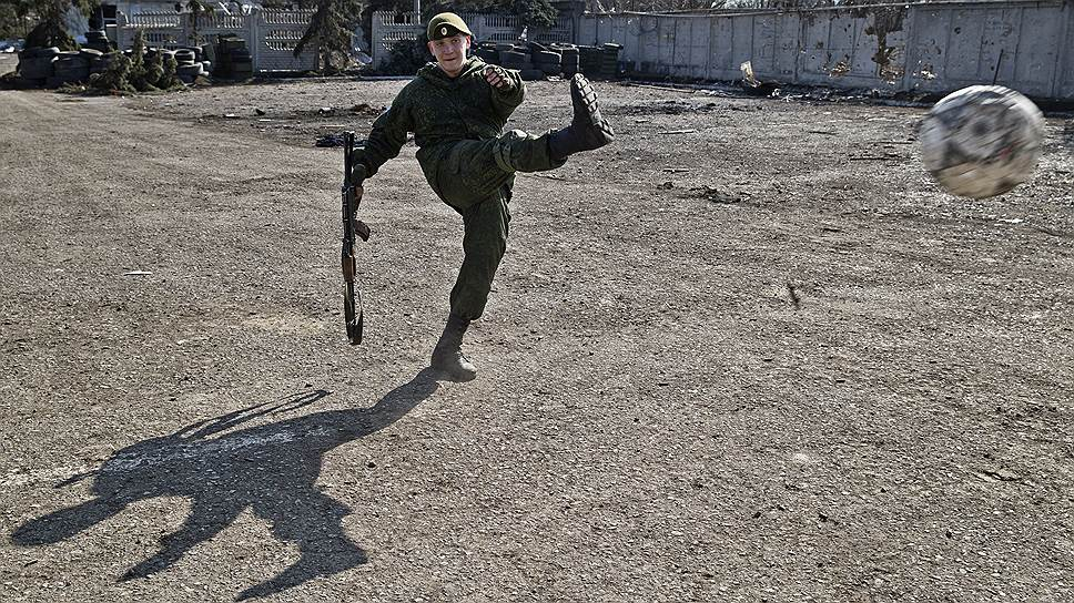 8 марта. Окраина Донецка