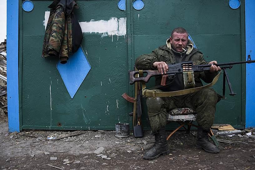 12 марта. Деревня недалеко от Луганска