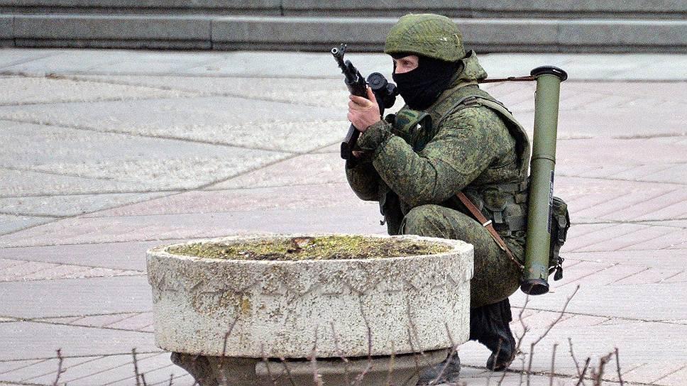 Как российские военные подготовили Крым к референдуму