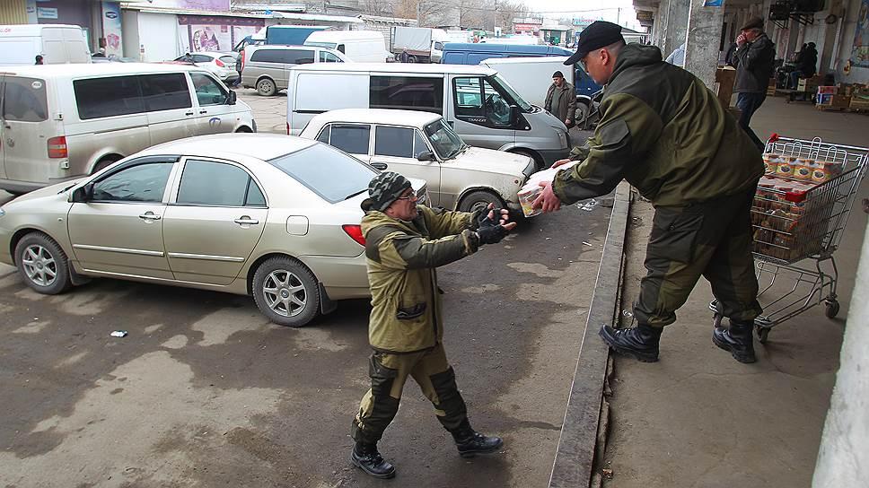 3 марта. Рынок Луганска