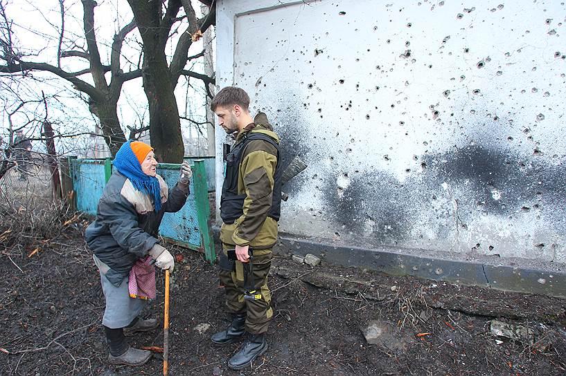 3 марта. Село Чернухино Луганской области