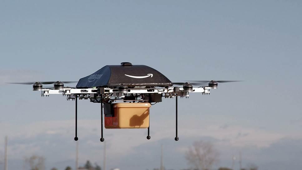 Amazon тестирует БПЛА для доставки заказов по воздуху