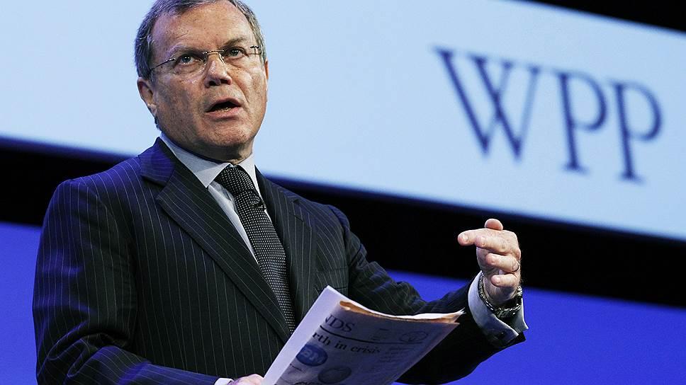 Генеральный директор крупнейшего в мире рекламного агентства WPP сэр Мартин Соррелл