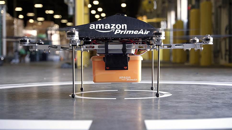 Как Amazon освоит небо Великобритании