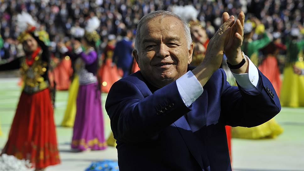 Как Ислама Каримова переизбрали президентом Узбекистана