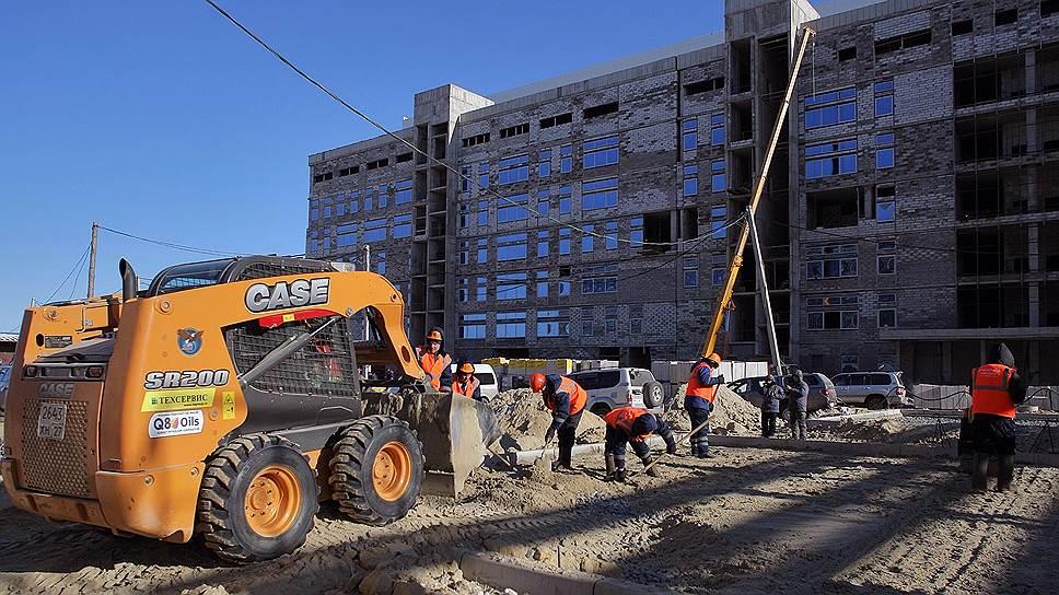 Почему на Восточном бастуют строители