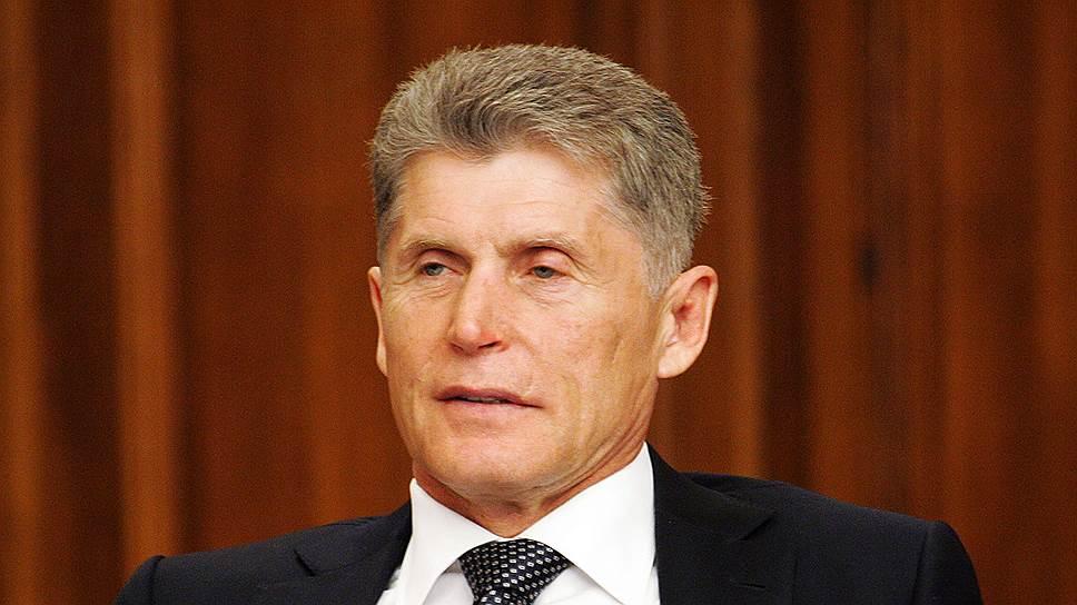 Врио главы Сахалинской области Олег Кожемяко