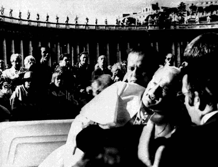 На жизнь папы не раз совершали покушения. 13 мая 1981 года во время проповеди на площади Святого Петра его ранил в живот член турецкой ультраправой группировки «Серые волки» Мехмет Али Агджана