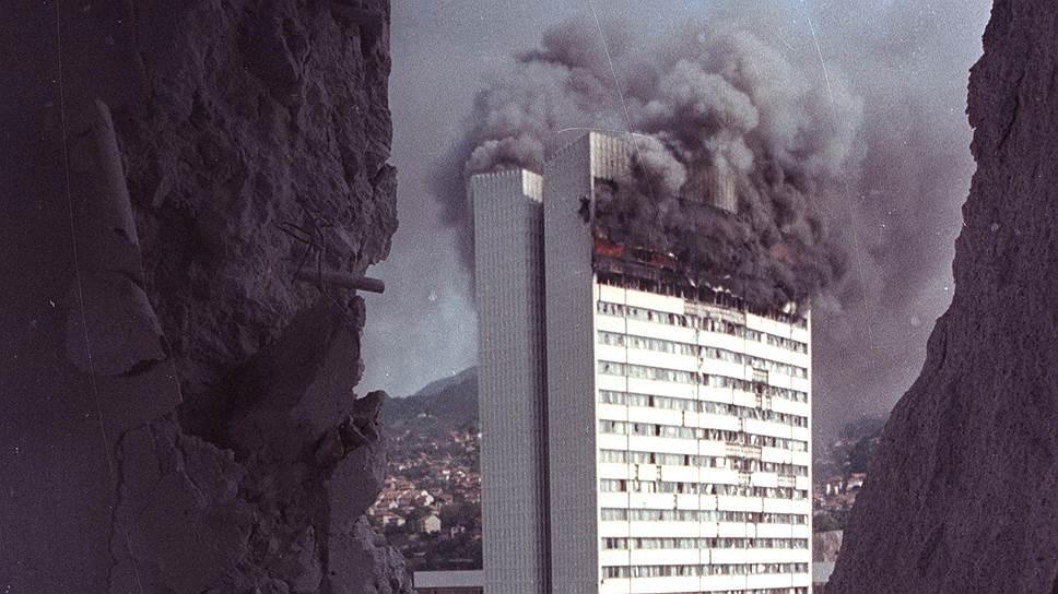 Хроника Боснийской войны