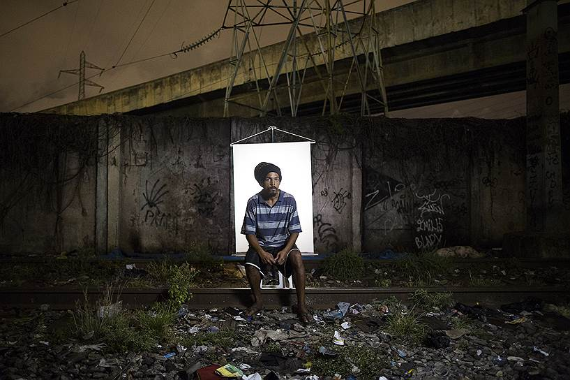 На фото: Дуглас Валлас, 26 лет. Не захотел рассказывать о себе