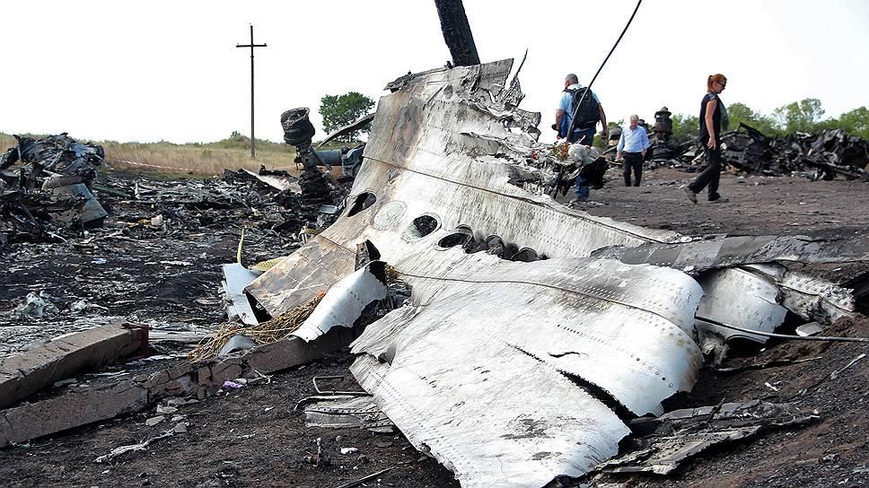 Нидерланды опубликовали часть документов о крушении Boeing777