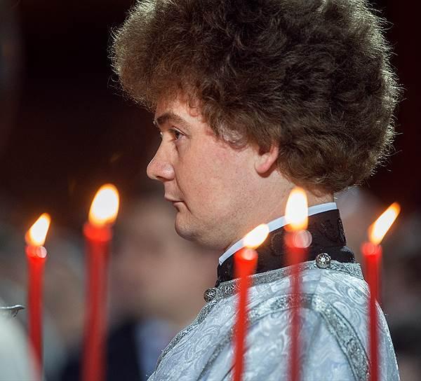 Крестный ход, пасхальная заутреня и Божественная литургия в кафедральном соборном Храме Христа Спасителя