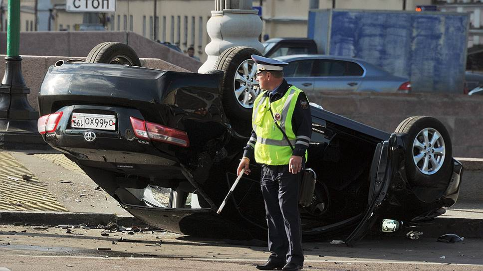 Москва и область меряются авариями