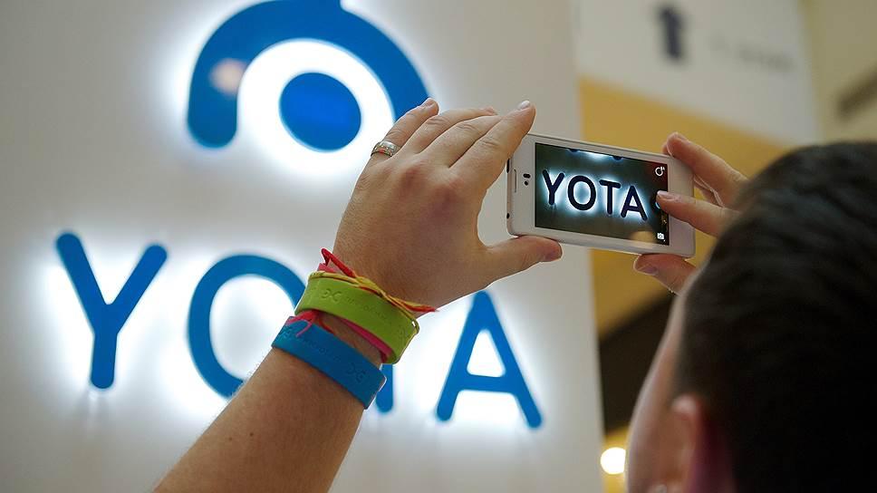 Yota Devices вся в белом