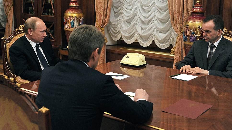 Владимир Путин выбрал главу Кубани с Александром Ткачевым