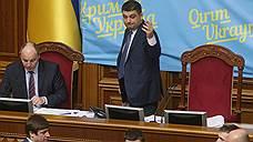 Верховная рада зафиксировала российскую военную агрессию
