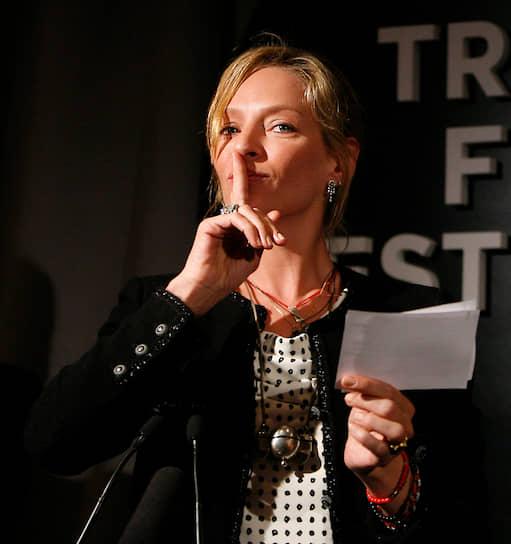 В 2013 году Ума Турман сыграла в картине Ларса фон Триера «Нимфоманка». Критики отметили, что даже эпизодическую роль она смогла исполнить ярко и по-своему