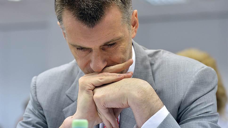 Как ОНЭКСИМ Михаила Прохорова провел реструктуризацию РБК