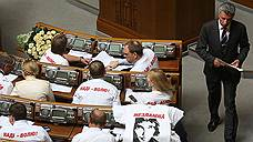 Украина приняла закон о правовом режиме военного положения