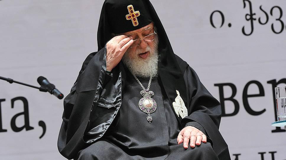 Патриарх Грузии ИлияII взял курс на Запад