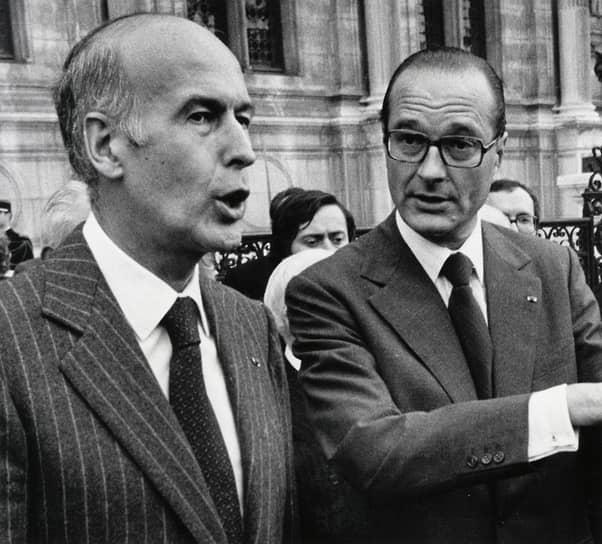 Шанс отыграться представился Жискару только в 2009 году, когда уже бывшего президента Ширака заподозрили в растрате и злоупотреблении служебным положением. Ширак отверг все обвинения. На фоне разгоравшегося скандала Жискар не преминул дать оценку давнему политическому противнику: «Ширак даже с полным ртом джема, стекающего по губам, пальцами, в нем измазанными, и открытой банкой напротив мог бы спокойно отрицать, что он ел этот самый джем». В 2011 году Жак Ширак был признан виновным и приговорен к двум годам условно