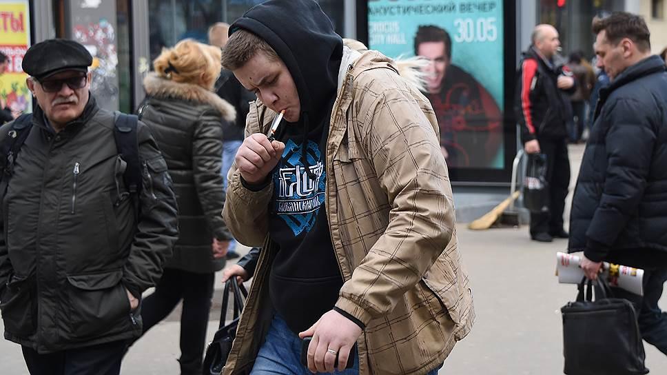 Каждый шестой курильщик в России отказался от табака