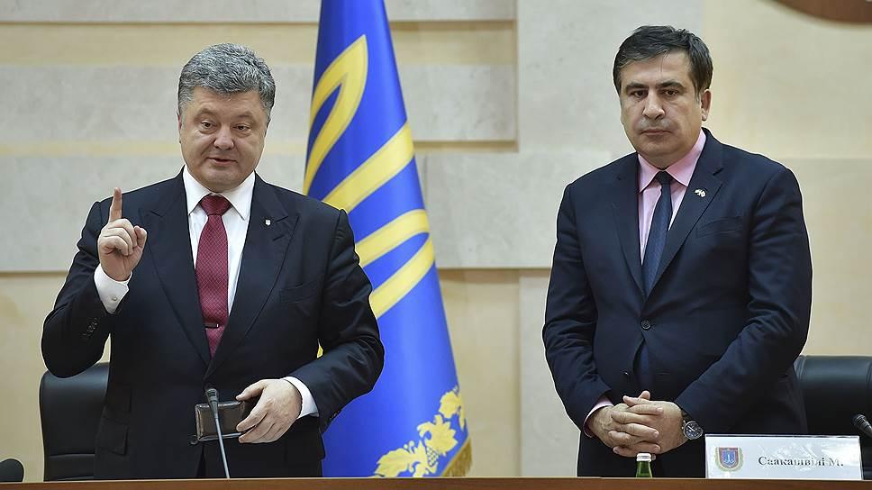 Как Михаил Саакашвили стал губернатором Одесской области