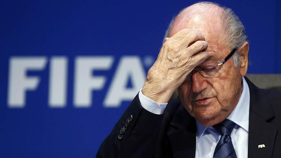 Президент FIFA Зепп Блаттер