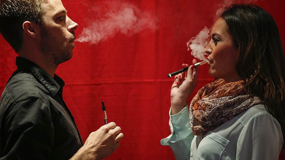 Электронные сигареты завоевывают США