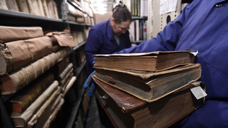 Как библиотека ИНИОНа пополнилась несгораемыми книгами
