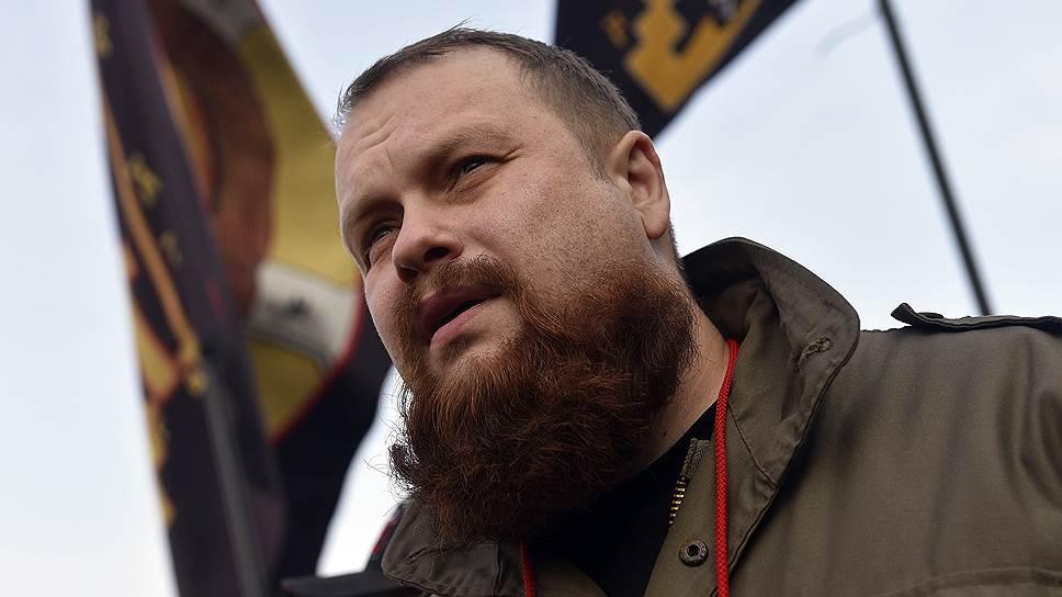 Лидер движения «Русские» Дмитрий Демушкин