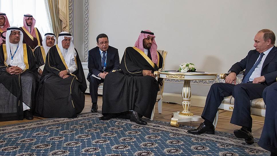 Саудовский принц и его коллеги наполнили обыкновенное помещение необыкновенными ароматами