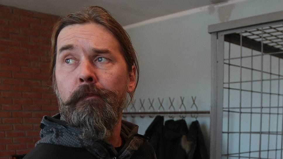 "Создатель и лидер трэш-метал группы ""Коррозия Металла"" Сергей ""Паук"" Троицкий"
