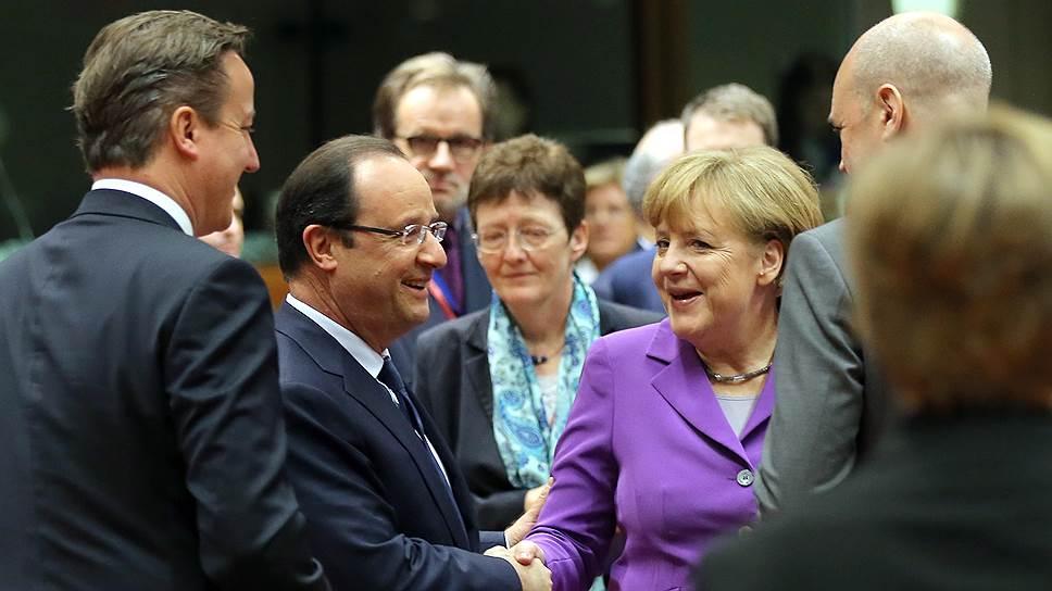 Европейские лидеры помолчат об антироссийских санкциях