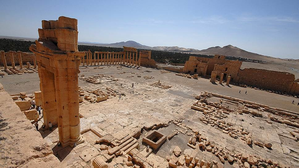 Как боевики «Исламского государства» разрушали Пальмиру